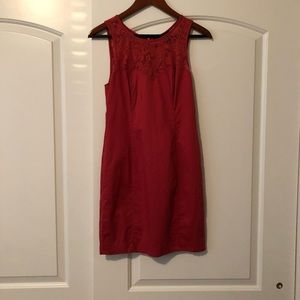 Bebe Dress Burnt Orange Size Small